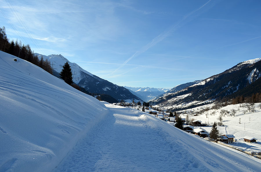 Hoehenweg Winter